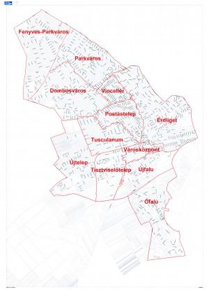érd térkép Csuka Zoltán Városi Könyvtár, Érd